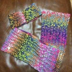 Betsy Johnson scarf and head wrap